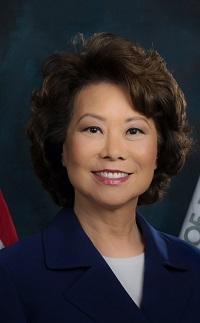 """""""U.S. Transportation Secretary Elaine L. Chao Announces $335 Million in Infrastructure Grants to America's Airports"""""""