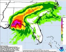 Hurricane Sally Threatens Alabama Shores With Heavy Rain and Floods