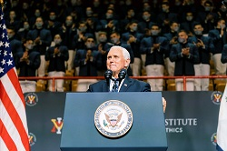 """""""Vice President Pence Addresses the VMI Corps of Cadets"""""""