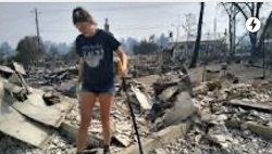Oregon Fires Leave Families Digging Through Personal Items As Homes Continue to Burn