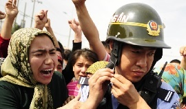 """""""The Chinese Communist Party's Human Rights Abuses in Xinjiang"""""""