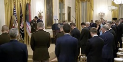 """""""President Trump Presents the Medal of Honor to Sergeant Major Thomas Payne, United States Army"""""""