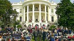 """President Trump and The First Lady Participate in a Historic Abraham Accords Peace Signing Ceremony"""""""
