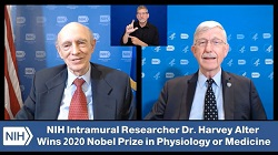 """""""Discussing the Long Arc of Discovery with NIH's Newest Nobelist"""""""