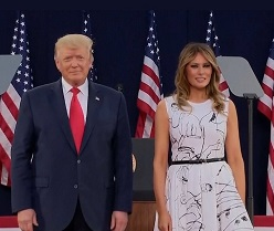 President Trump and First Lady Melania Trump In Self Quarantine After Staffer Tested Positive for Covid-19