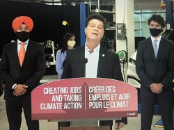 Canadian Prime Minister Trudeau Announced Funding For Electric Vehicle Production