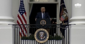 """""""President Trump Delivers Remarks at a Peaceful Protest for Law & Order"""