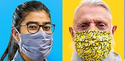 Wear Mask Coverings May Slow the Spread of the COVID-19 Virus